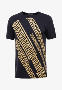 Versace Collection - T-shirt imprimé - blue - 3