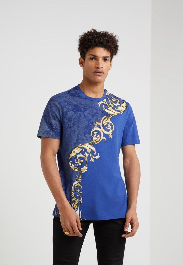 T-shirts print - indaco