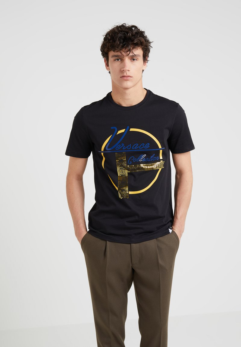 Versace Collection - Camiseta estampada - black