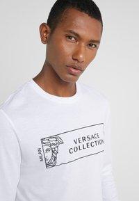 Versace Collection - GIROCOLLO REGOLARE - Long sleeved top - bianco/nero - 4