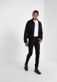 Versace Collection - GIROCOLLO REGOLARE - Long sleeved top - bianco/nero - 1