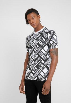 T-shirts med print - bianco stampa