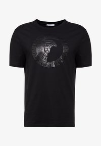 Versace Collection - GIROCOLLO REGOLARE - T-shirt print - nero