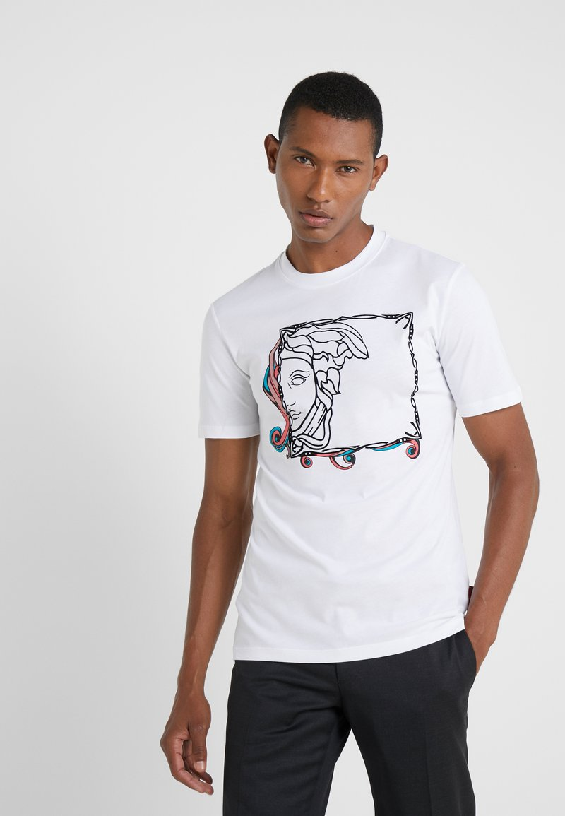 Versace Collection - FITTED - T-Shirt print - bianco
