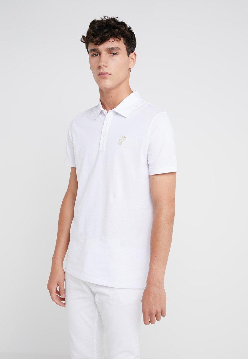 Versace Collection - Polo shirt - bianco/oro