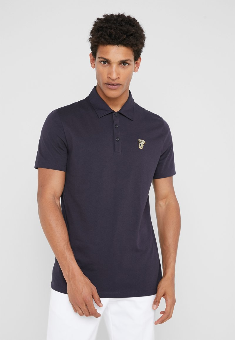 Versace Collection - Poloshirt - navy/ oro