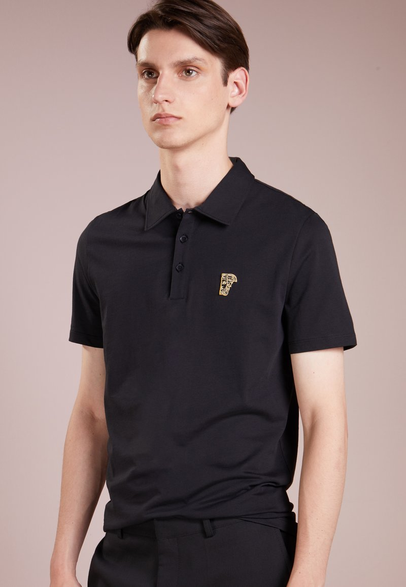 Versace Collection - Poloshirts - nero/oro