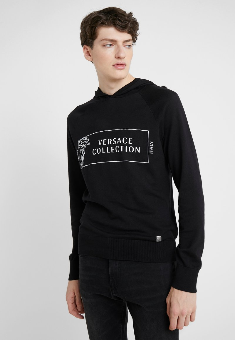 Versace Collection - Hættetrøjer - nero/stampa