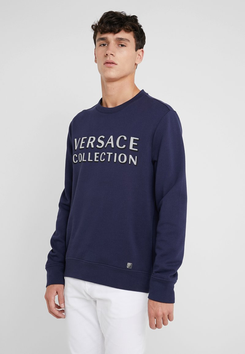 Versace Collection - SPORTIVO FELPA - Sweatshirt - bluette