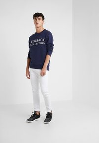 Versace Collection - SPORTIVO FELPA - Sweatshirt - bluette - 1