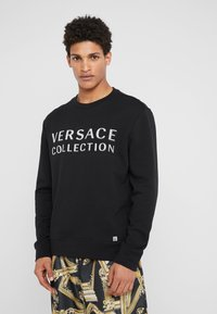 Versace Collection - SPORTIVO FELPA - Mikina - nero - 0
