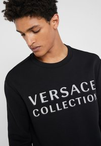 Versace Collection - SPORTIVO FELPA - Mikina - nero - 3