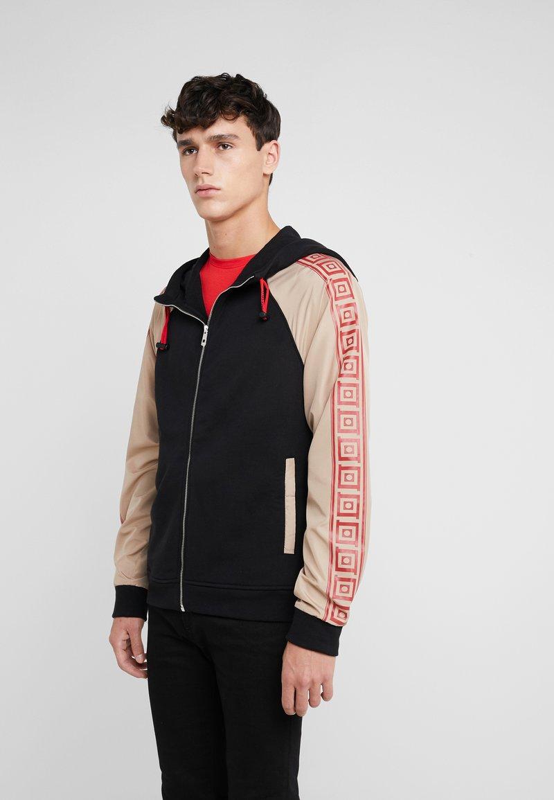Versace Collection - SPORTIVO - veste en sweat zippée - nero
