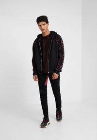 Versace Collection - SPORTIVO FELPA CON CAPPUCCIO - veste en sweat zippée - nero - 1