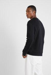Versace Collection - FELPA GIROCOLLO - Sweatshirt - nero - 2