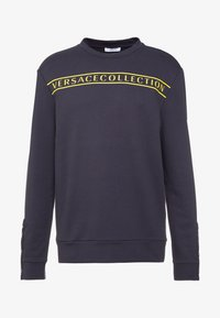 Versace Collection - FELPA CON RICAMO - Sweatshirts - blue - 5