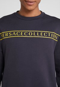 Versace Collection - FELPA CON RICAMO - Sweatshirts - blue - 4