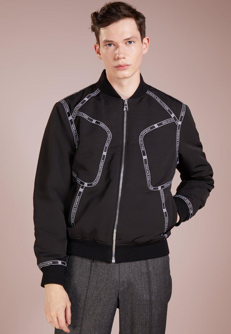 Versace Collection - CAPOSPALLA BLOUSON - Bomber Jacket - nero