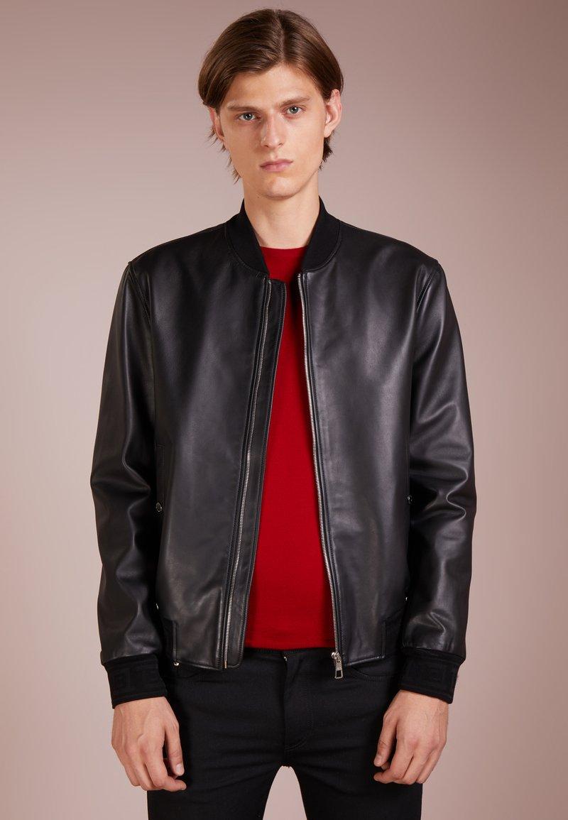 Versace Collection - BLOUSONE - Leather jacket - nero