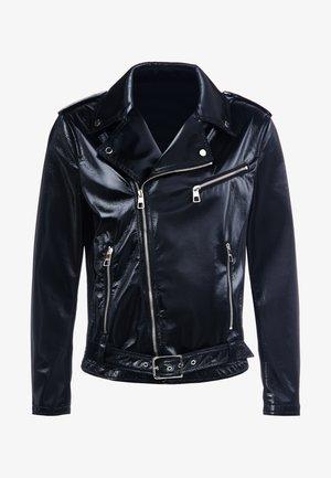 CAPOSPALLA BLOUSON - Faux leather jacket - nero