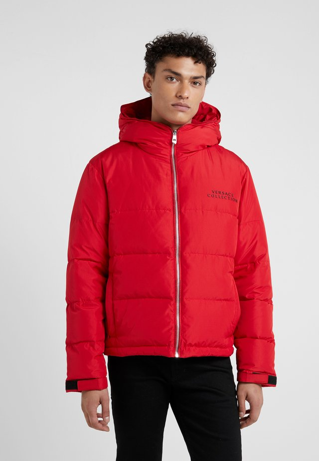 Down jacket - rosso