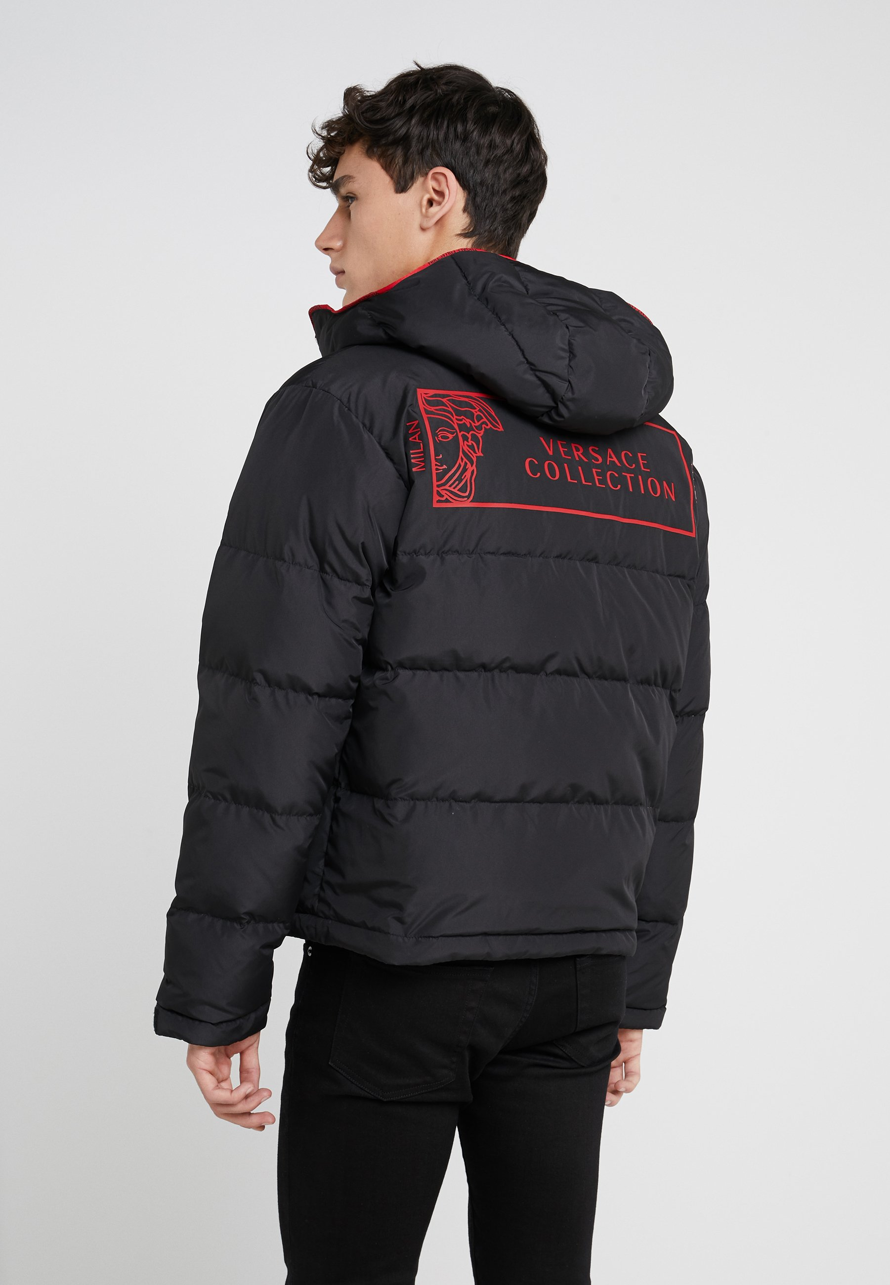 Versace Collection Daunenjacke - Nero
