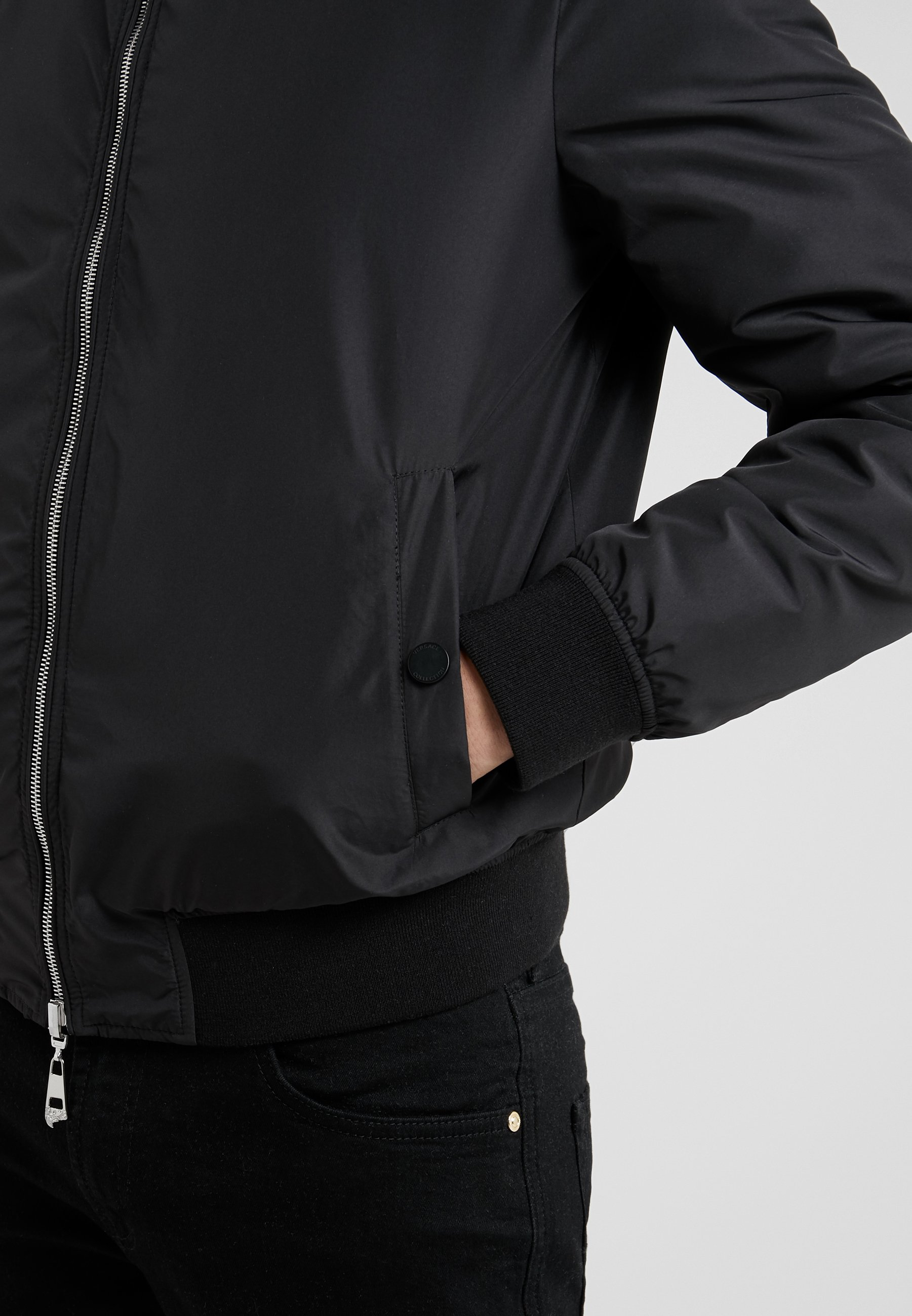 BlousonBomber Collection Capospalla BlousonBomber Nero Versace Collection Nero Capospalla Capospalla Versace Collection Versace BlousonBomber rxoedQCBW
