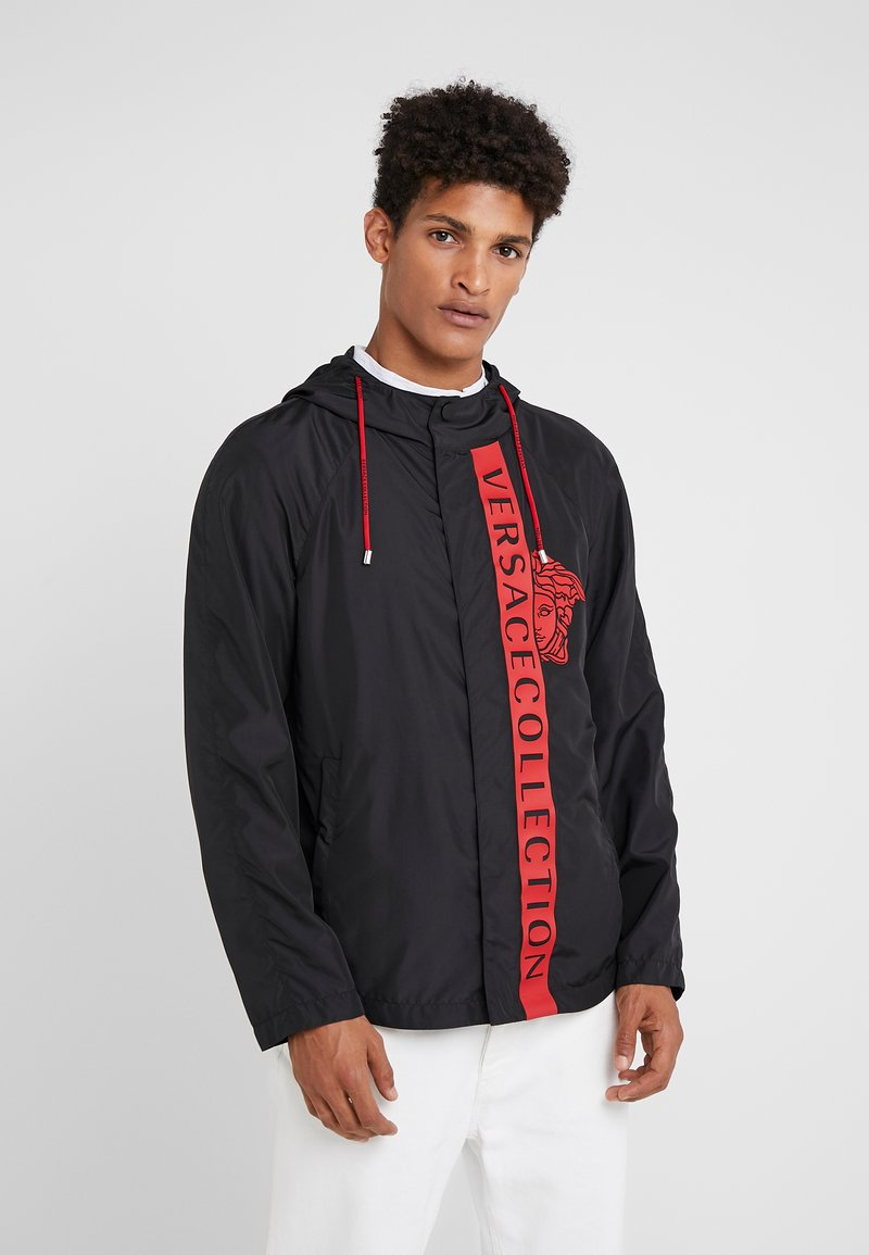 Versace Collection - CAPOSPALLA BLOUSON - Lehká bunda - nero