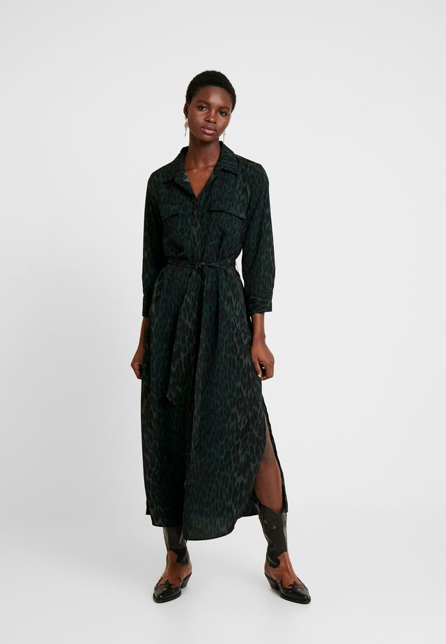 ANIMAL PHRASES BELTED DRESS - Shirt dress - willow