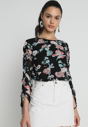 GARDENS BLOUSE - Blouse - rich black