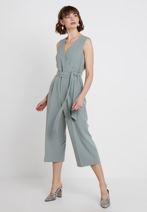 BASE BELTED - Jumpsuit - smoked sage