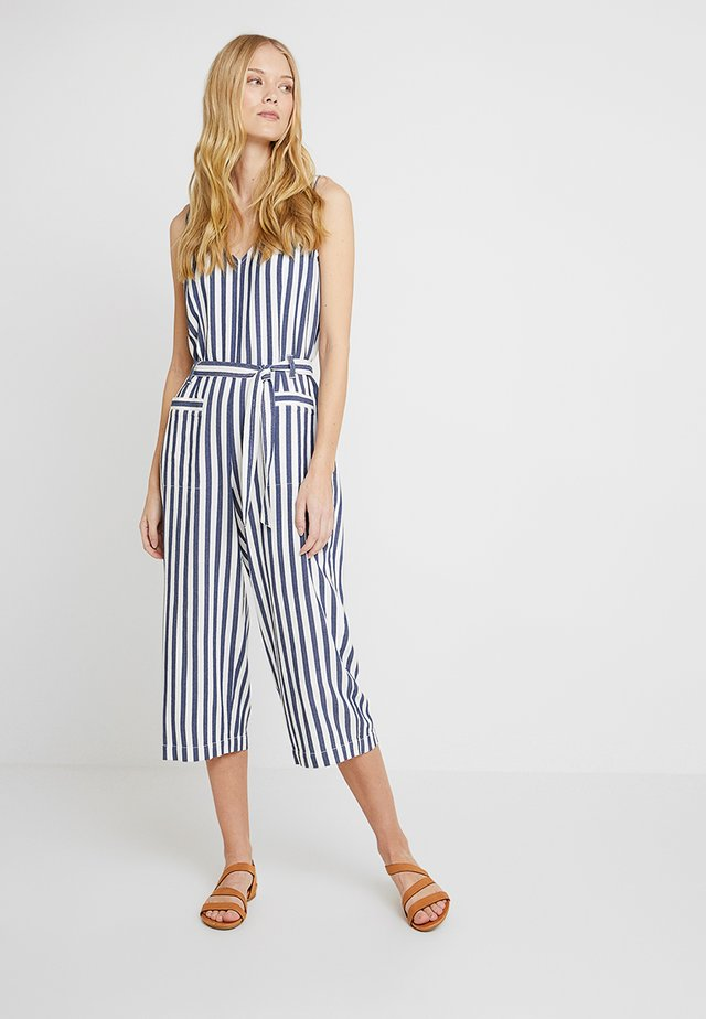 BOARDWALK STRIPE BELTED - Overal - classic navy