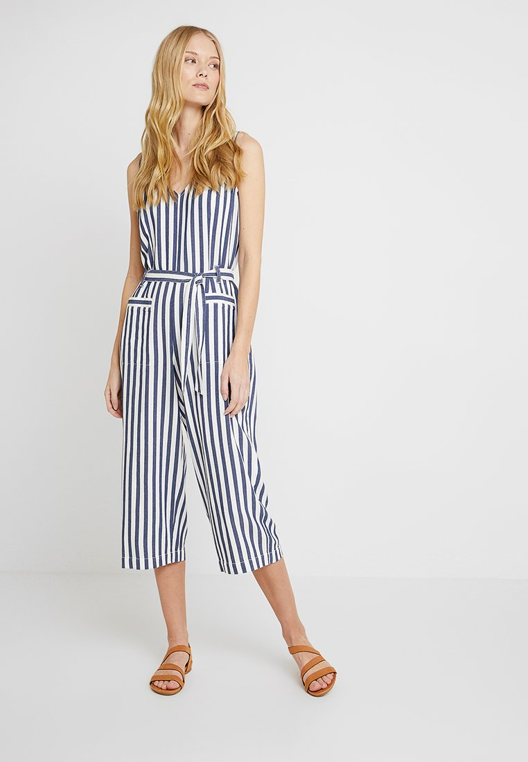 Vince Camuto - BOARDWALK STRIPE BELTED - Mono - classic navy