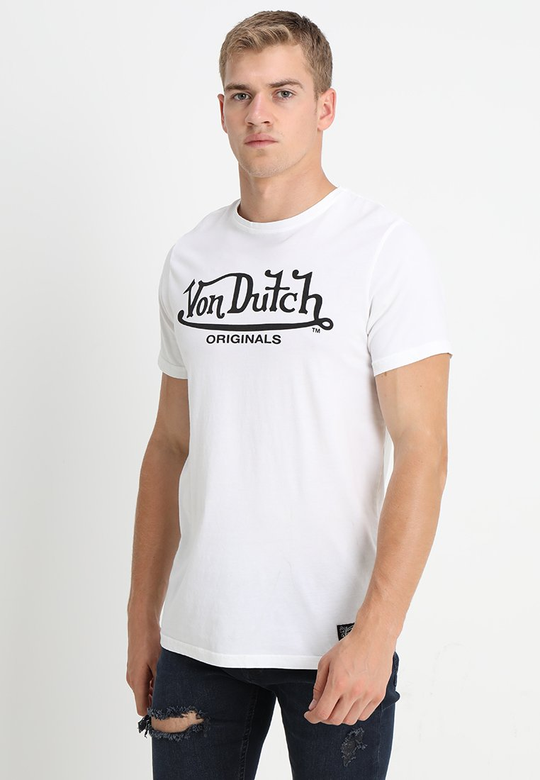 Von Dutch - LOGO ORIGINALS - T-shirt med print - white