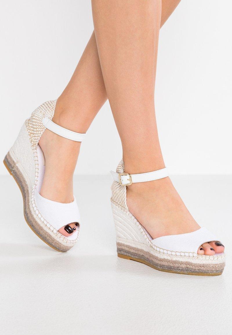 Vidorreta - Sandály na vysokém podpatku - blanco