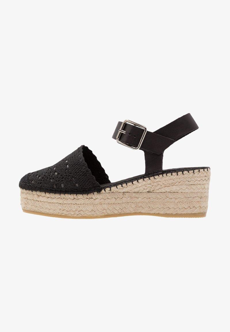 Vidorreta - Sandalias con plataforma - black