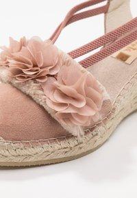 Vidorreta - Sandály na platformě - nude - 2