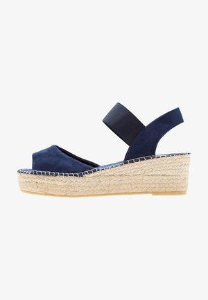 Sandales à plateforme - marino