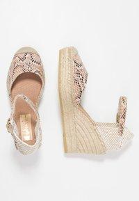 Vidorreta - SERPIENTE - Sandály na vysokém podpatku - beige - 3