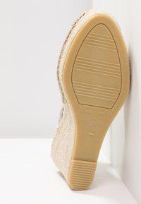 Vidorreta - SERPIENTE - Sandály na vysokém podpatku - beige - 6