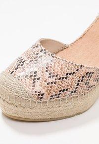 Vidorreta - SERPIENTE - Sandály na vysokém podpatku - beige - 2