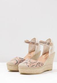 Vidorreta - SERPIENTE - Sandály na vysokém podpatku - beige - 4