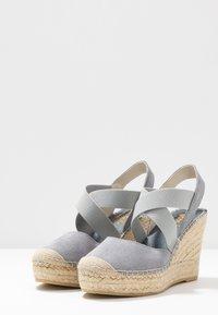Vidorreta - High heeled sandals - gris - 4