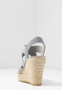 Vidorreta - High heeled sandals - gris - 5