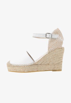 NATI - High heeled sandals - blanco