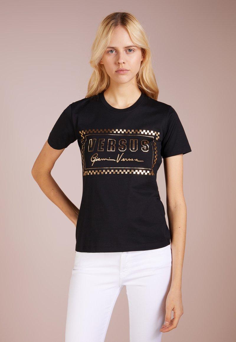 Versus Versace - DONNA SLIM - Print T-shirt - black