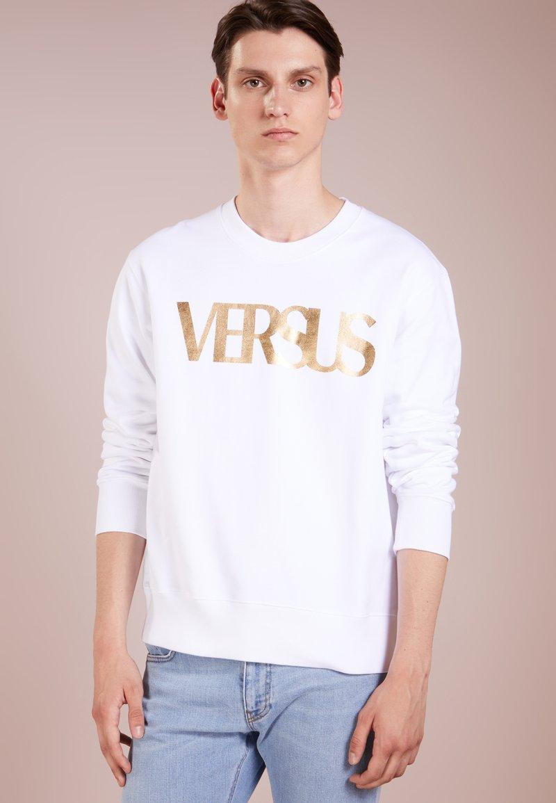 Versus Versace - REGULAR VINTAGE LOGO - Sweatshirt - white
