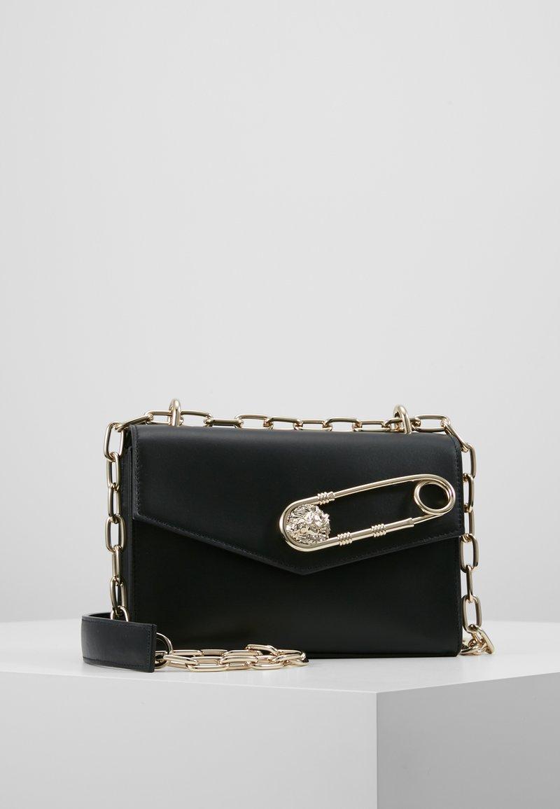 Versus Versace - CHAIN LIONHEAD - Borsa a tracolla - black