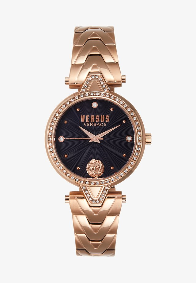 V CRYSTAL - Zegarek - rosegold-coloured