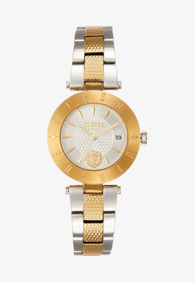 LOGO - Klocka - gold-coloured